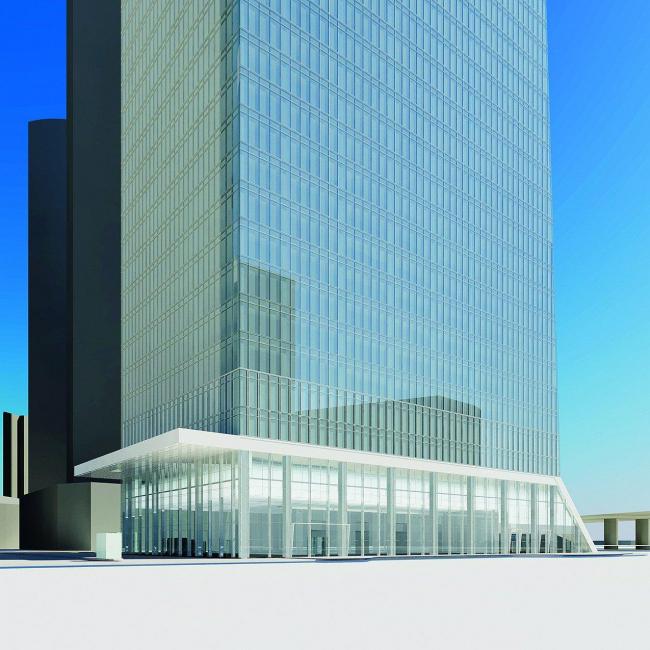 Многофункциональный комплекс на участке 16 Москва -Сити