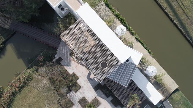 Павильон курорта Orenda на острове Чунминдао