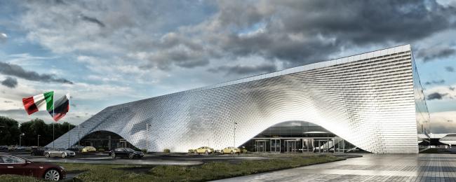 Аэропорт в Челябинске, конкурсный проект, 2016