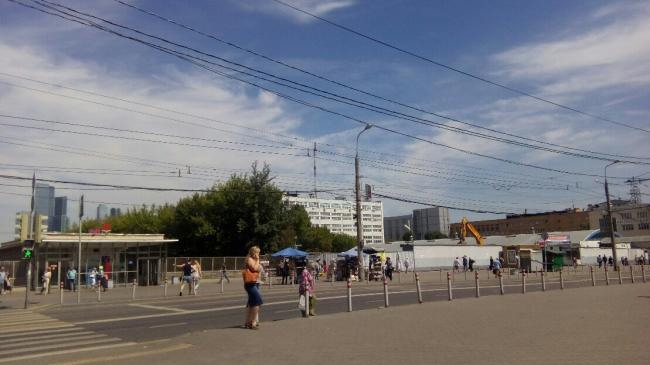 Рынок «Багратионовский». До реконструкции