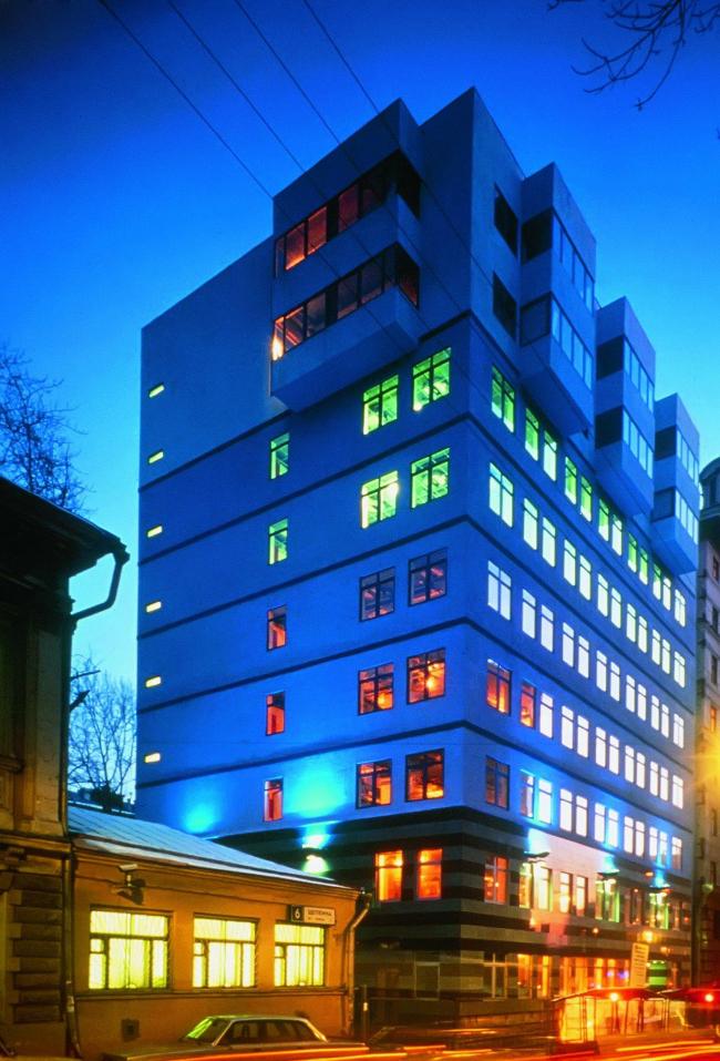 Офис «Дойче-Банка» © архитектор Уильям Олсоп