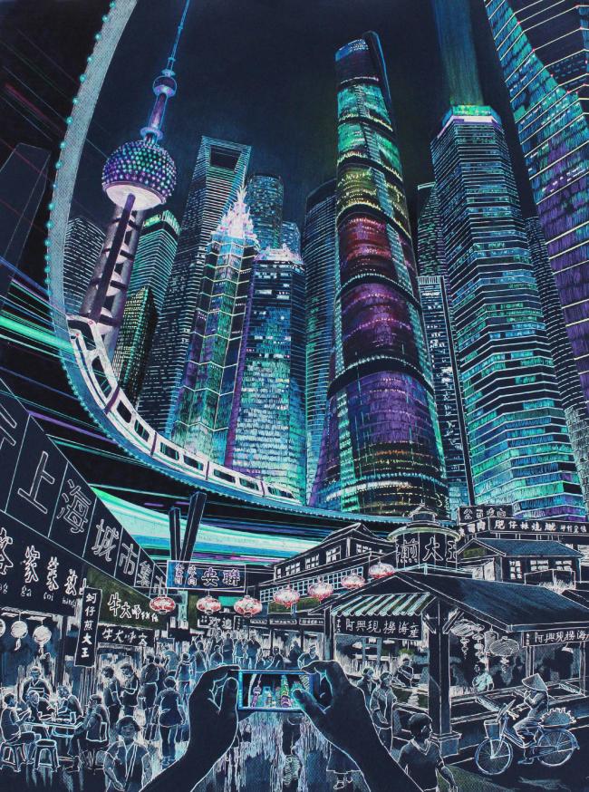 Шанхай. Архитектурная фантазия