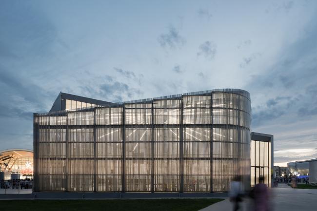 Многофункциональный павильон Центра современного искусства Астаны. Проект бюро «Новое».