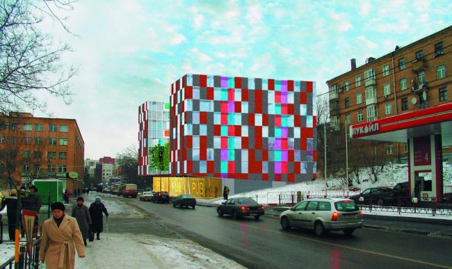 Жилой комплекс на ул. Рочдельская © архитектор Олсоп Уильям