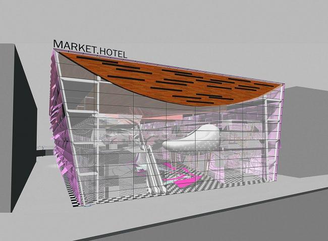 Торгово-гостиничный комплекс на Цветном бульваре © архитектор Олсоп Уильям
