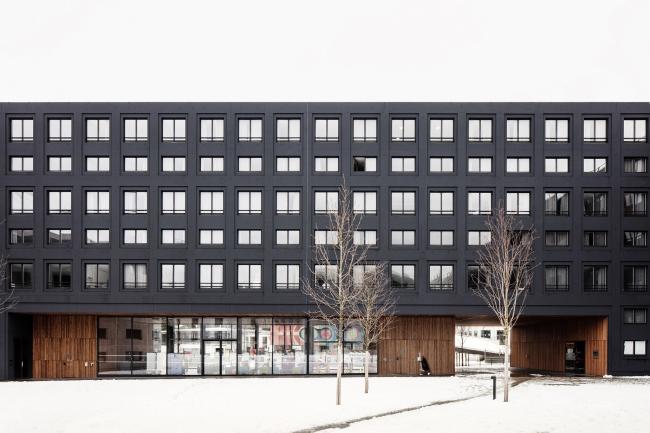 Студенческое общежитие на кампусе Париж-Сакле