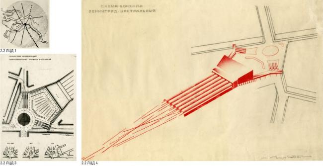 Lenigrad Central. Diploma paper 1929 – 1930