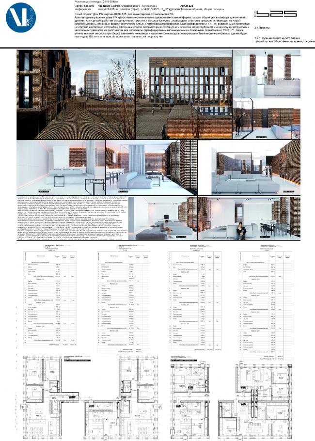 Дом РФ / Россия.  Архитектурная компания ARCH.625