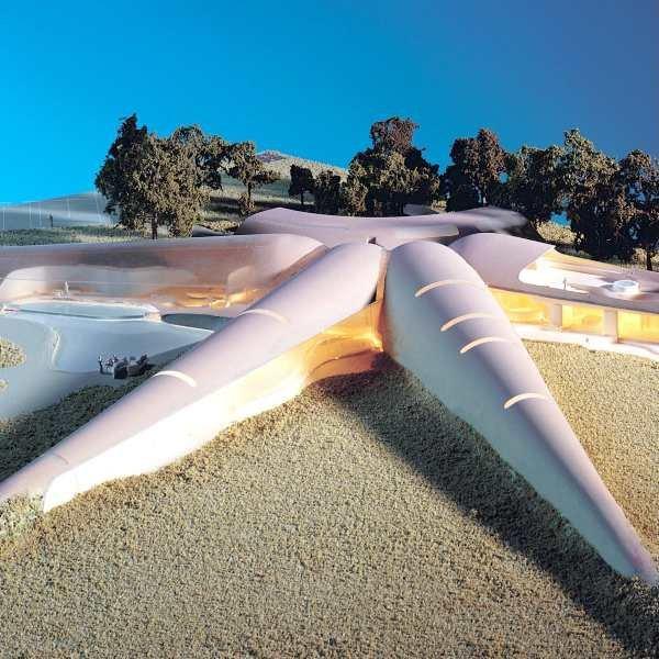 Кэтрин Финдлей. Новый Грэфтон-Холл. Конкурсный проект. 2001 г.
