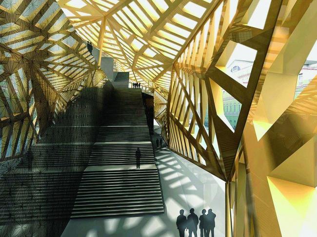 Новое здание Государственного академического Мариинского театра (Мариинка-2)
