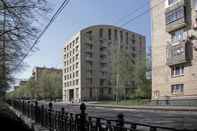 "Plan. The housing complex ""Shchastye na Serpukhovke"". View from the Serpukhovskoi Val Street"