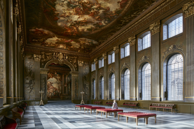 Восстановление зала The Painted Hall в Гринвиче, Лондон.  Hugh Broughton Architects + Martin Ashley Architects