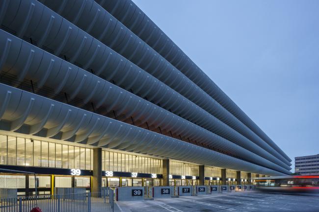 Реконструкция автобусной станции в Престоне.  John Puttick Associates + Cassidy+Ashton