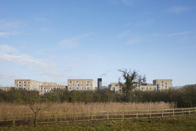 Мастер-план жилого квартала Эддингтон, Кембридж.  AECOM