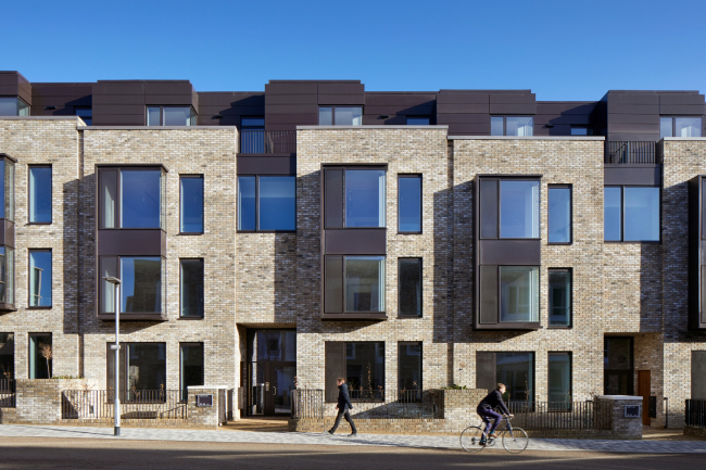 Квартал Эддингтон, лот №1, Кембридж.  WilkinsonEyre + Mole Architects