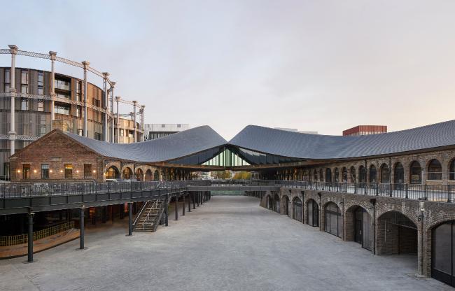Торговый комплекс Coal Drops Yard, Лондон.  Heatherwick Studio + BAM Design