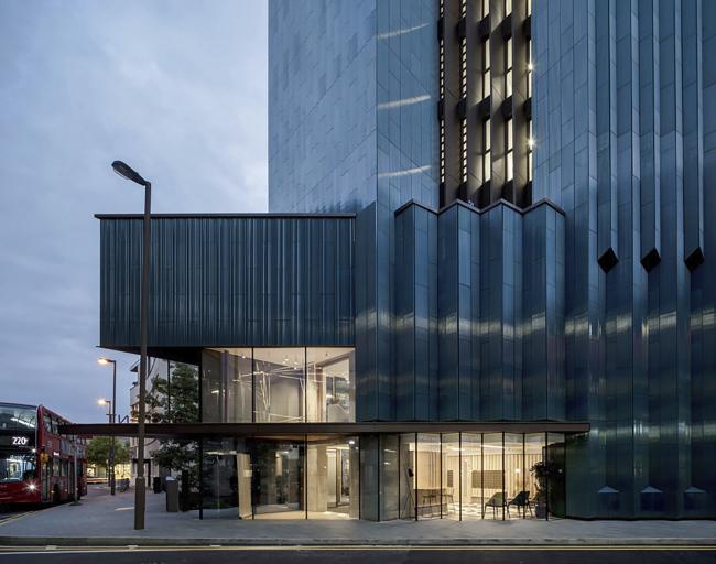 Жилая башня Mapleton Crescent, Лондон.  Metropolitan Workshop