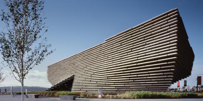 Филиал Музея Виктории и Альберта в Данди.  Kengo Kuma & Associates + PiM.studio Architects + James F Stephen Architects