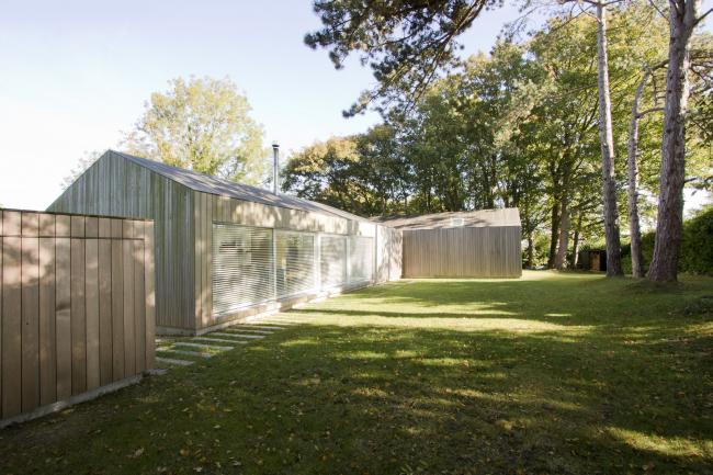 Пассивный дом Hill House Passivhaus, Льюис.  Meloy Architects