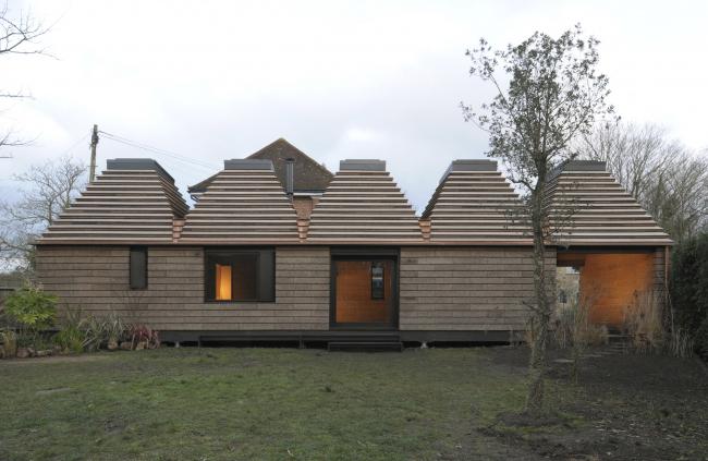 Пробковый дом в Итоне, Беркшир.  MPH Architects