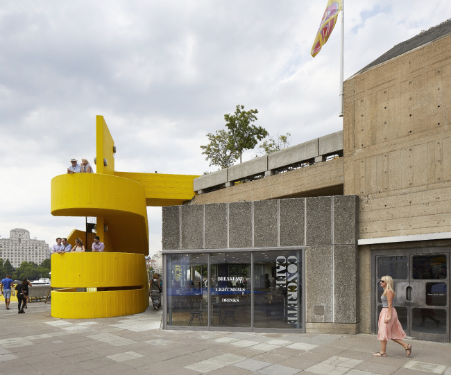Центр искусств Southbank Centre, Лондон.  Feilden Clegg Bradley Studios + Archer Humphryes Architects