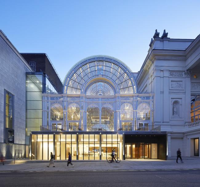 Проект обновления Королевского оперного театра, Лондон.  Stanton Williams