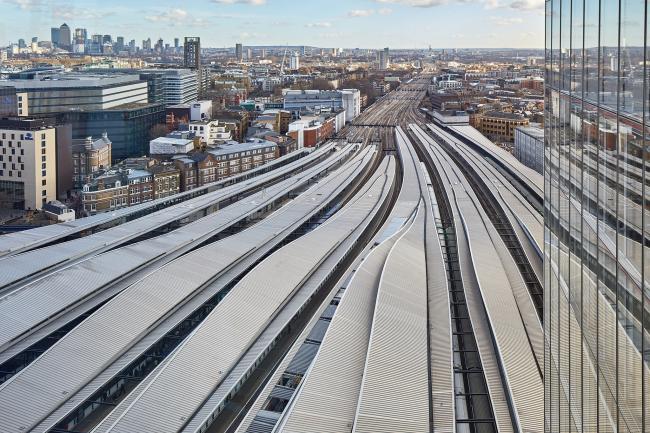 Реконструкция вокзала «Лондон Бридж».  Grimshaw