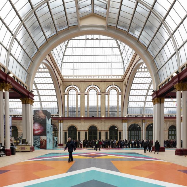 Реконструкция восточного крыла Александра-палас, Лондон.  Feilden Clegg Bradley Studios