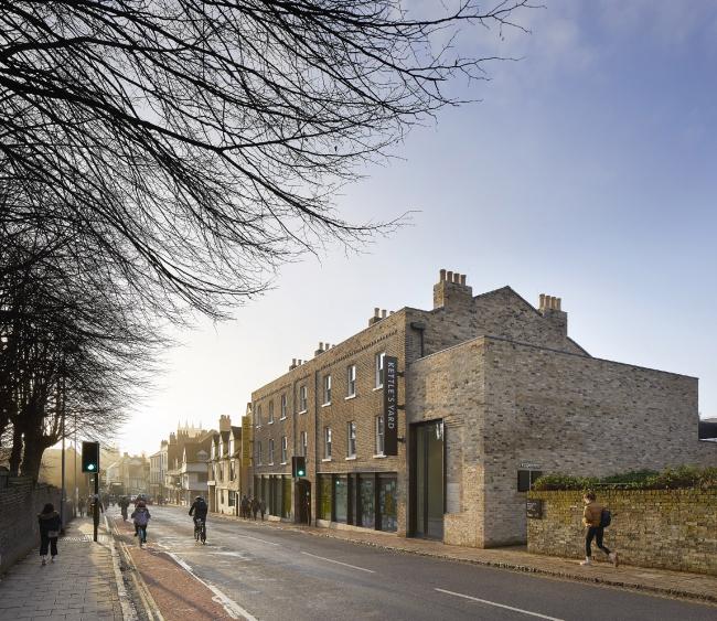 Музей Kettle′s Yard, Кембридж.  Jamie Fobert Architects
