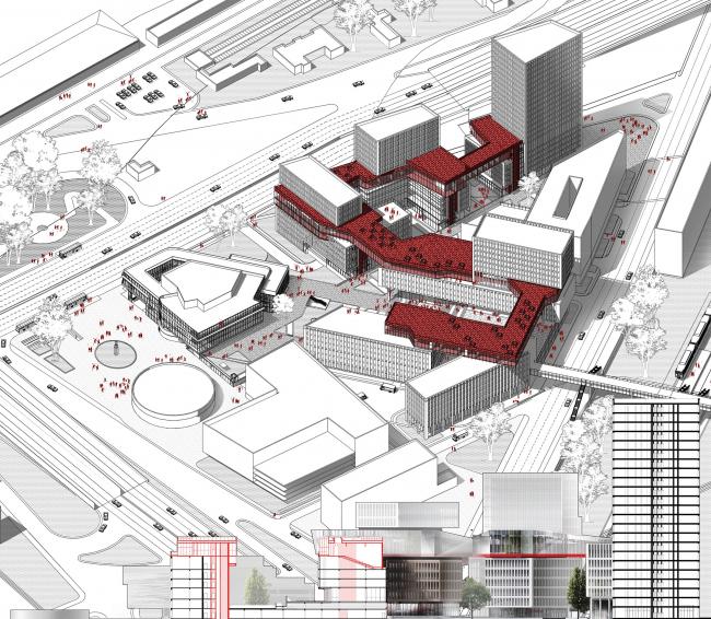 Принципы архитектурной организации инновационных деловых комплексов (hub)