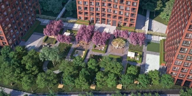 Многофункциональный комплекс с апартаментами, подземным паркингом и коммерческими площадями по адресу: Варшавское шоссе, вл. 9/1.