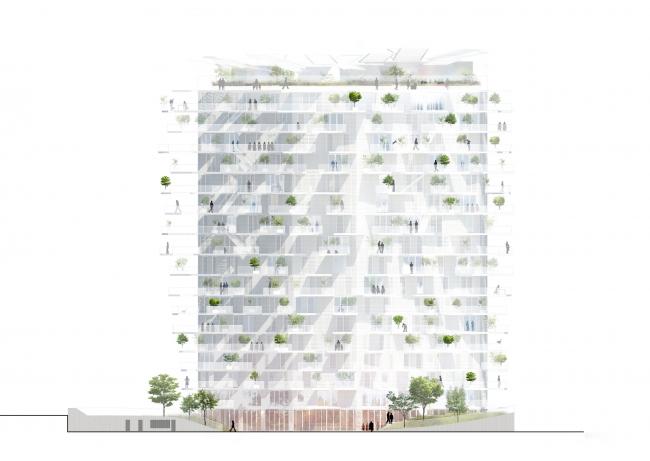 Башня L′Arbre Blanc