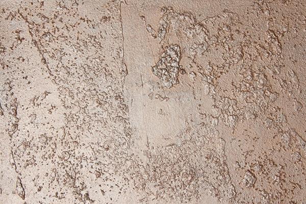 Имитация металлической поверхности с помощью  декоративной штукатурки Baumit