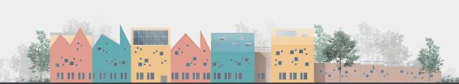 Принципы проектирования дошкольных образовательных учреждений в условиях плотной застройки срединной зоны Москвы