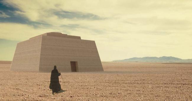 Проект «Святая земля». «Храм-лабиринт, который должен предоставлять человеку свободу в выборе направления движения»
