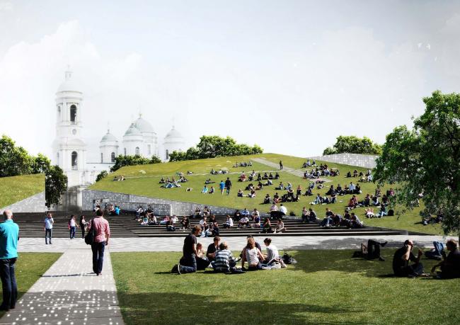 Проект «Тучков парк» для форсайта РБК «Санкт-Петербург как суперкампус»