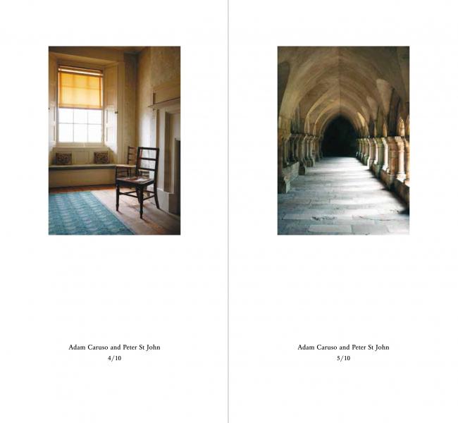 Разворот книги The Images of Architects