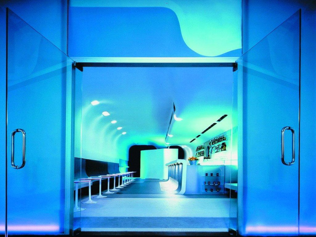 Бар Glass © Leeser Architecture