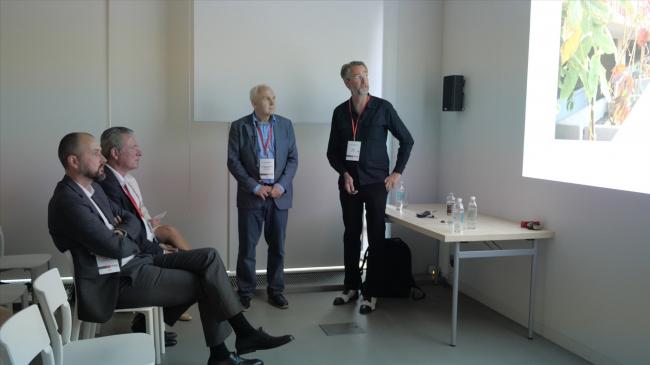 Выступление Тако Постма (INBO architecten) на семинаре Hagemeister
