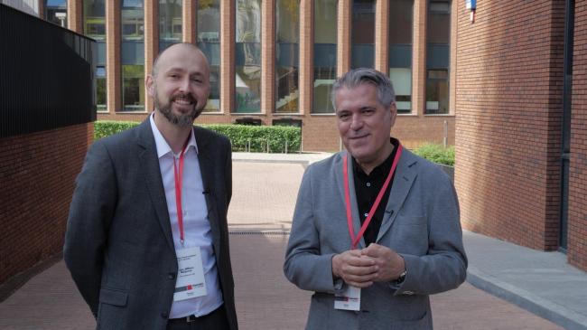Ян-Виллем Байенсе и Перо Пульиз, партнеры de Architecten CIE