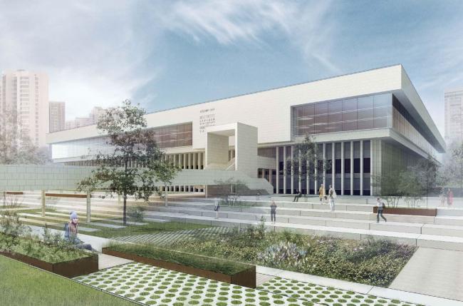 Проект восстановления здания ИНИОН РАН