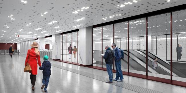 Станция метро «Стромынка»