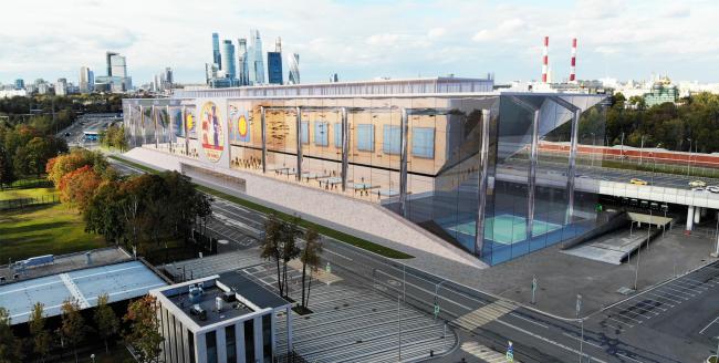 Дворец единоборств в Лужниках, проект-победитель конкурса, 2019