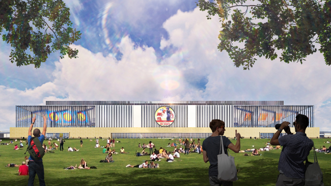 The Palace of Martial Arts in Luzhniki, the competition-winning project 2019
