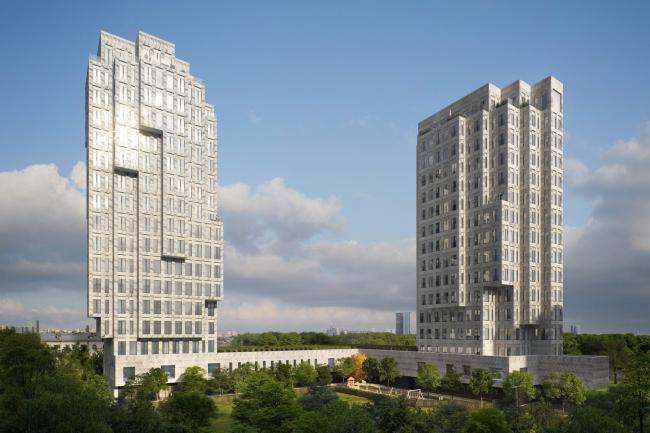 Многофункциональный жилой комплекс на Звенигородском шоссе