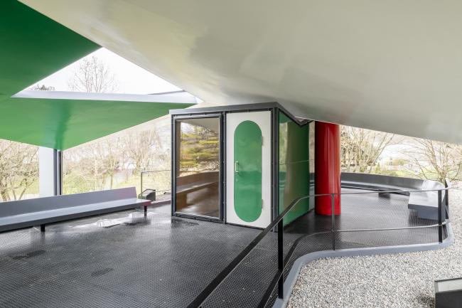 Павильон Ле Корбюзье в Цюрихе