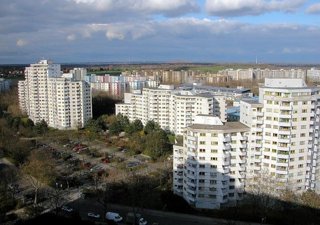 Район Меркишес Фиртель. Фото 2012 года
