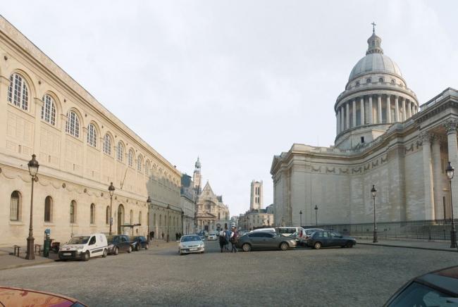 Площадь Пантеона до реконструкции
