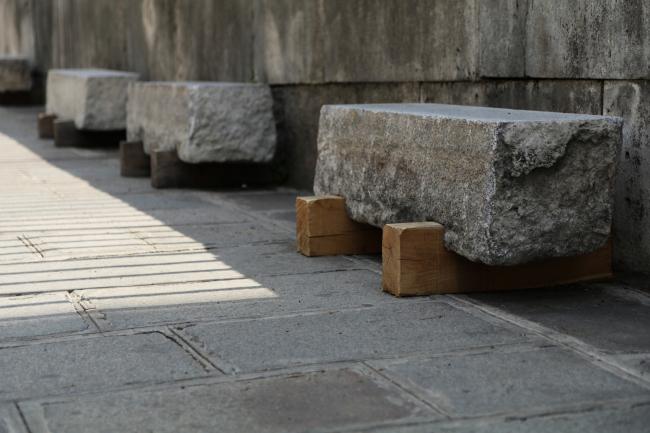 Площадь Пантеона – реконструкция. Пробный этап