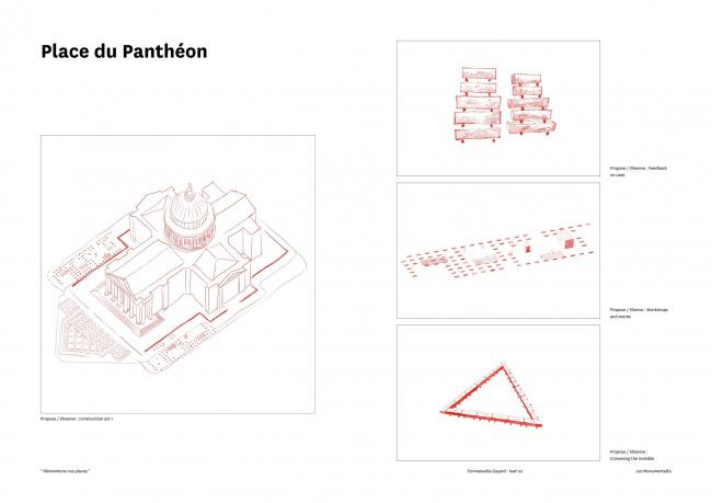 Площадь Пантеона – реконструкция